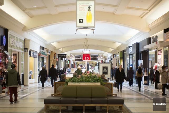 Le centre commercial Les Rivières... (Archives Le Nouvelliste)