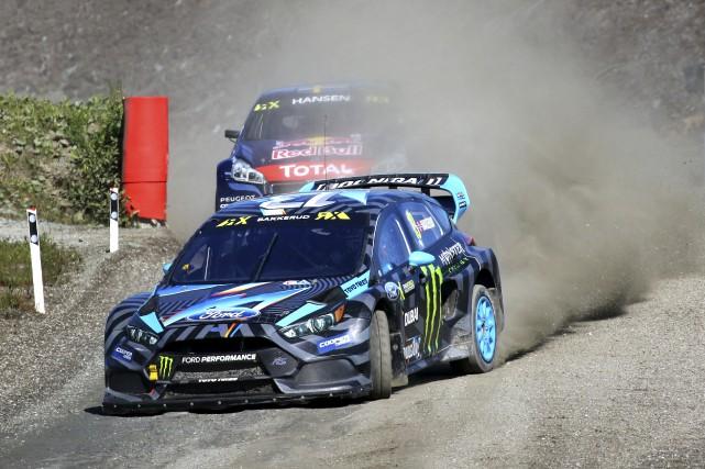 Andreas Bakkerud aura été dominant du début à... (FIA World RX)