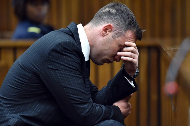 Oscar Pistorius, en juin, à la cour.... (Photo Phill Magakoe, archives Associated Press)
