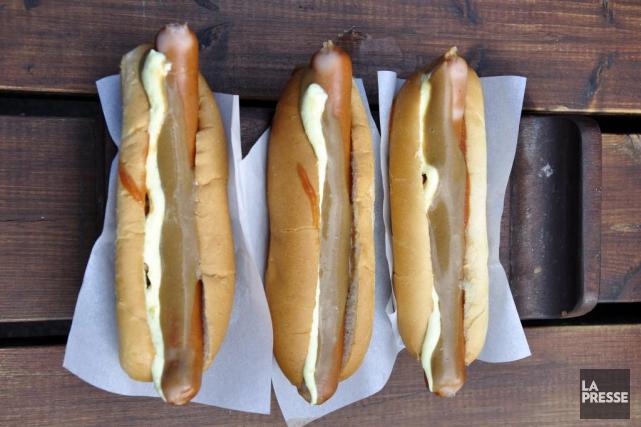 Les hot dogs devront changer de nom en... (PHOTO STÉPHANIE MORIN, archives LA PRESSE)