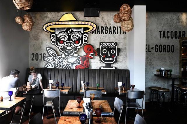 Le nouveau restaurant El Gordo, dans la Petite... (PHOTO BERNARD BRAULT, LA PRESSE)