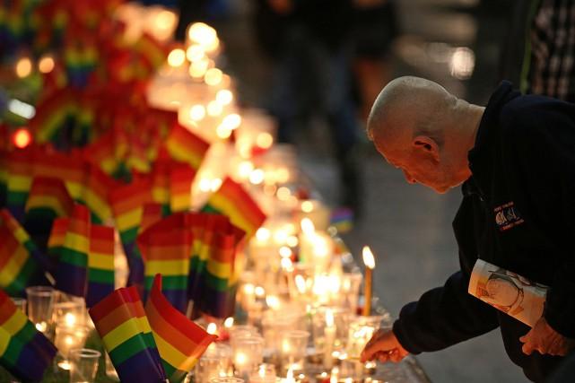 La fusillade à Orlando, qui a fait une... (Photo Rick Rycroft, AP)