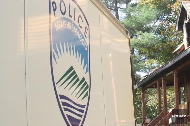 La police de Magog demande l'aide du public pour éclaircir les circonstances... (Archives La Tribune)