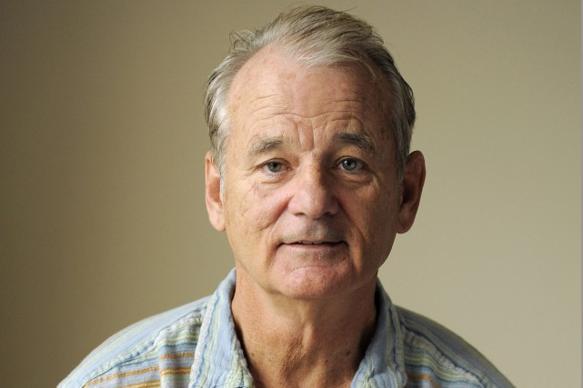 Bill Murray photographié en 2012.... (PHOTO ARCHIVES AP)