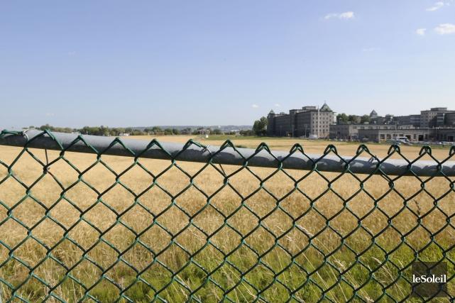 Une partie des 22 hectares de l'ancienne a... (Photothèque Le Soleil)