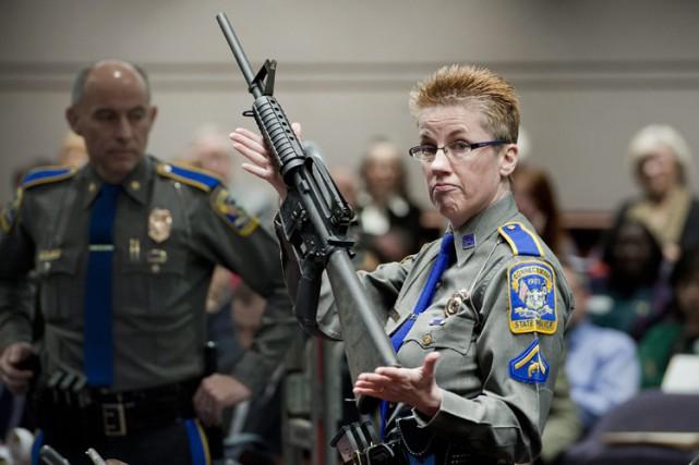 Étant l'un des fusils les plus vendus aux... (PHOTO AP)