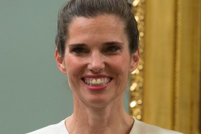 Kirsty Duncan, ministre fédérale des Sciences... (PhotoJustin Tang, La Presse Canadienne)