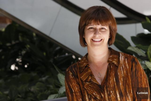 Marie-France Lalonde est passée lundi du poste d'adjointe... (Simon Séguin-Bertrand, Archives LeDroit)