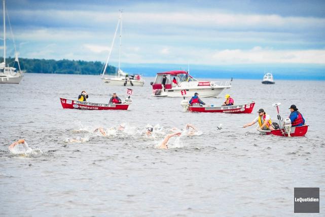 Cinq Québécois seront sur la ligne de départ,... (Archives Le Quotidien, Gimmy Desbiens)