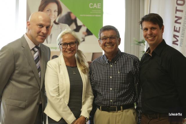 La cellule de Mentorat pour entrepreneurs et intrapreneurs... (Catherine Trudeau, La Voix de l'Est)