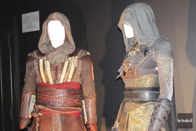 Ces costumes d'assassins ont été portés par les... (Le Soleil, Yves Therrien)