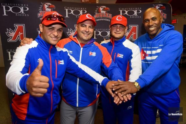 Des membres de l'équipe nationale de Cuba ont... (François Gervais, Le Nouvelliste)