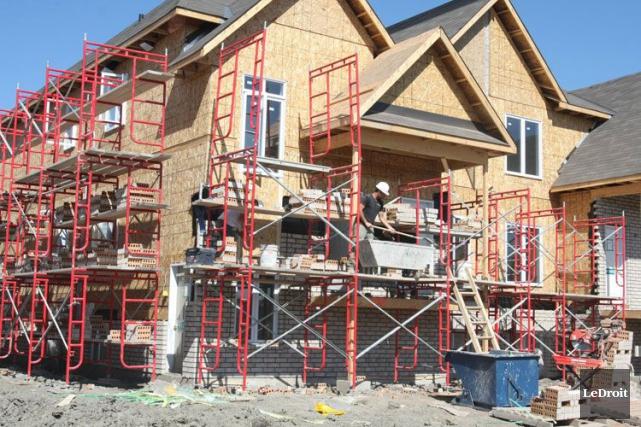 La Société canadienne d'hypothèques et de logement (SCHL) a estimé mercredi que... (Archives Le Droit)