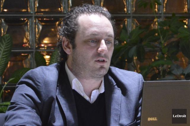 Le président de la CSCV, Éric Antoine... (Benoit Sabourin, LeDroit)