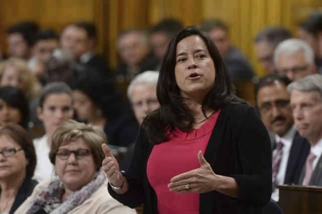 La ministre fédérale de la Justice,Jody Wilson-Raybould... (Sean Kilpatrick, Archives La Presse Canadienne)