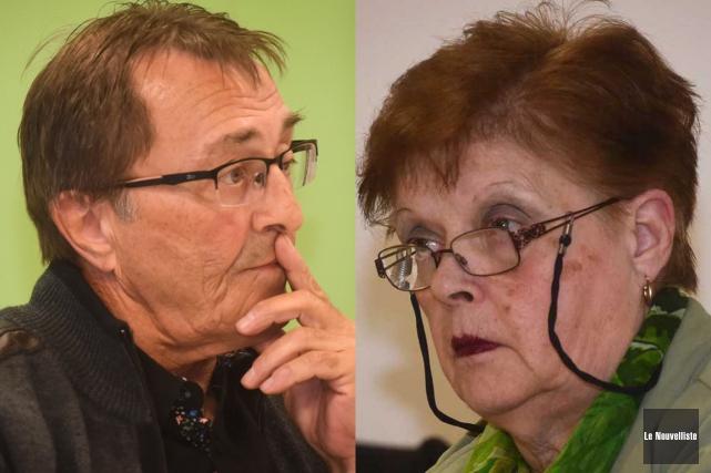 André Lamy et Françoise Hogue Plante... (François Gervais, Le Nouvelliste)