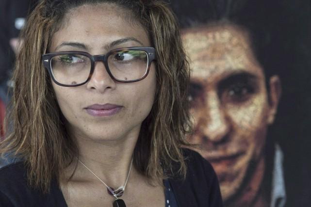 Ensaf Haidar, la femme de Raïf Badawi, demeure... (La Presse Canadienne, Paul Chiasson)
