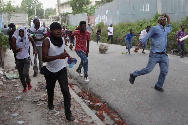 Haïti est plongée dans une crise politique profonde... (Photo archives Reuters)