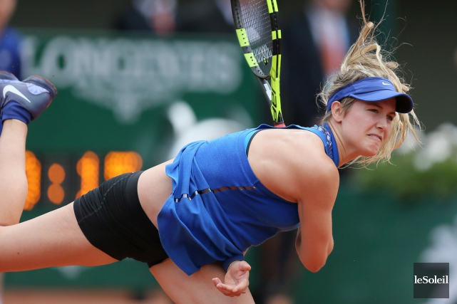 Eugenie Bouchard... (Photo David Vincent, archives AP)