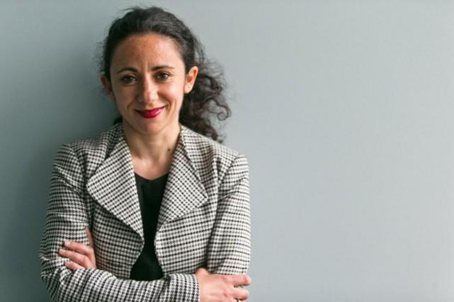 Audrey Azoulay, responsable, stratégie et développement, au Centre... (PHOTO FRANÇOIS ROY, LA PRESSE)