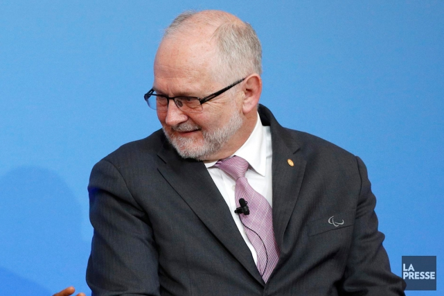Le président duComité international paralympique (CIP), Philip Craven.... (Photothèque La Presse)