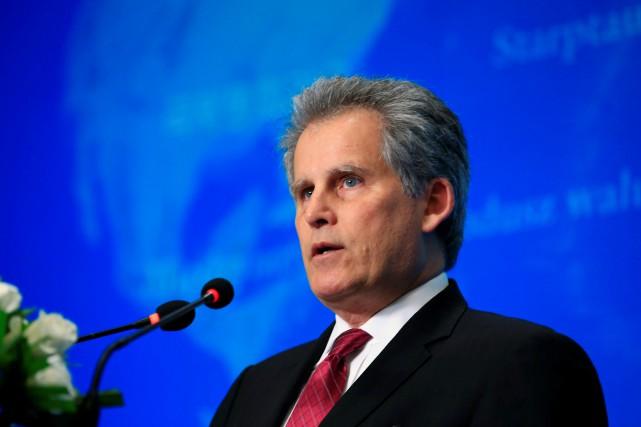 David Lipton, le numéro deux du FMI, a... (Photo Reuters)