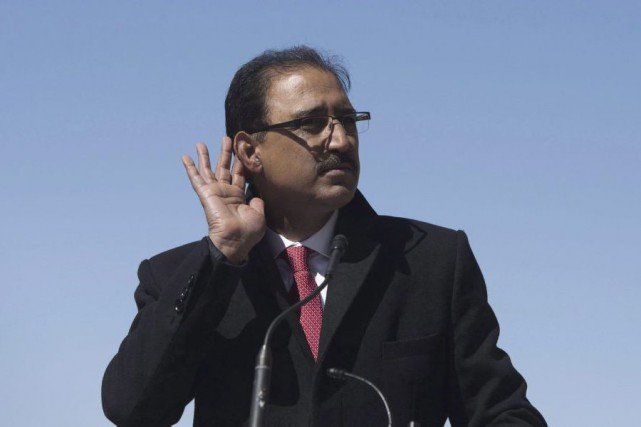 Amarjeet Sohi... (Photo Adrian Wyld, La Presse Canadienne)
