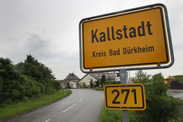 Niché dans les vignes allemandes, Kallstadt a donné Donald Trump à l'Amérique.... (PHOTO AFP)