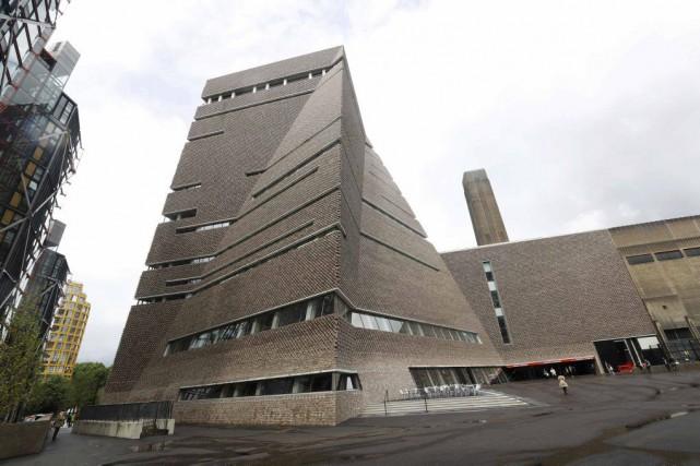 Le musée Tate Modern de Londres s'est doté... (PHOTO REUTERS)