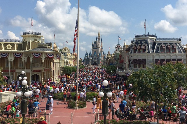 Magic Kingdom à Orlando.... (PHOTO AP)