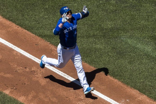 Josh Donaldson... (Photo Mark Blinch, La Presse Canadienne)