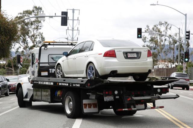 Dans la voiture de James Howellavaient été retrouvés... (PHOTO AFP)