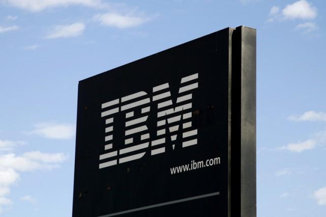 Un ex-employé du géant de l'informatique IBM a été inculpé mardi aux États-Unis... (PHOTO REUTERS)