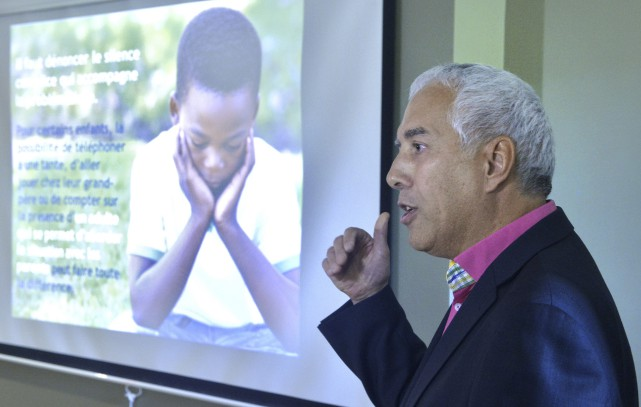 «La violence psychologique sur les enfants est souvent... (Spectre Média, Maxime Picard)