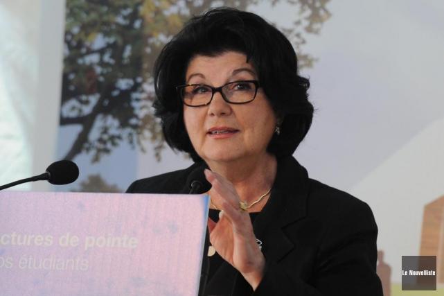 Francine Ruest-Jutras... (Sylvain Mayer, Le Nouvelliste)