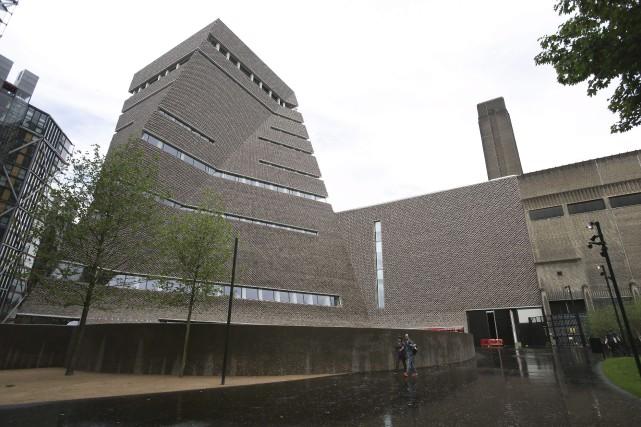 L'expansion du Tate Modern de Londres prend la... (AFP, Daniel Leal-Olivas)