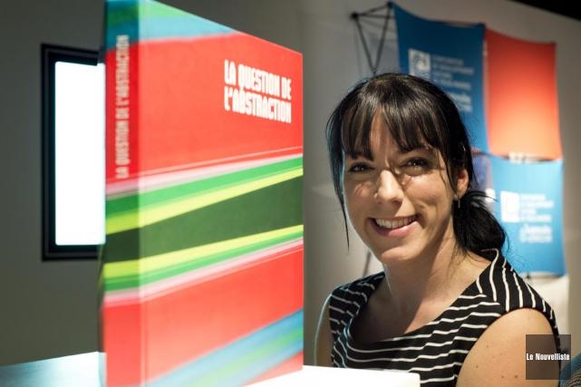 La directrice du Centre d'exposition Raymond-Lasnier, Marie-Andrée Levasseur,... (Sylvain Mayer, Le Nouvelliste)