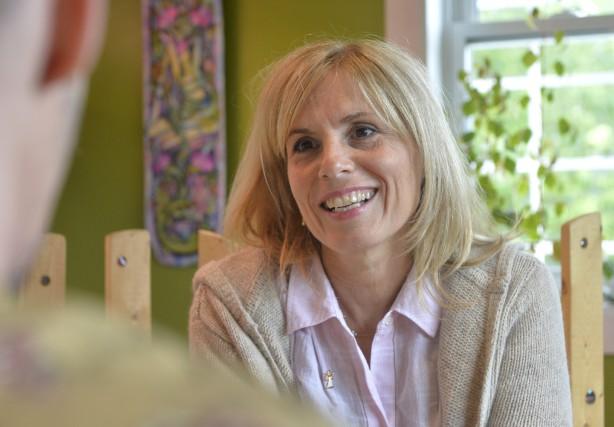 Lyne St-Roch: «Le yoga, ça n'a rien à... (Spectre Média, Maxime Picard)