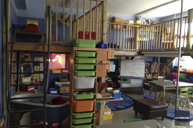 Les 17 mezzanines de lecture construites dans huit... (Archives, La Tribune)