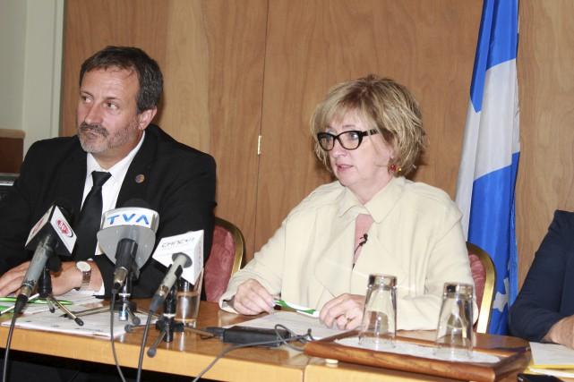 Sylvain Roy et Micheline Barriault du SIIEQ croient... (Collaboration spéciale Gilles Gagné)