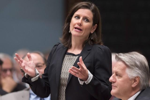 La ministre de la Justice, Stéphanie Vallée... (Archives, La Presse Canadienne)