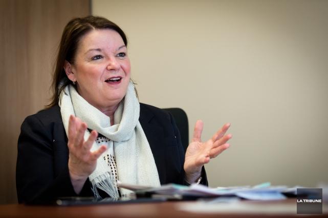 Patricia Gauthier, directrice générale du CIUSSS.... (Archives, La Tribune)