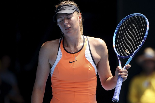 L'actuelle suspension de Maria Sharapova doit prendre fin le... (Photo Rick Rycroft, archives Associated Press)