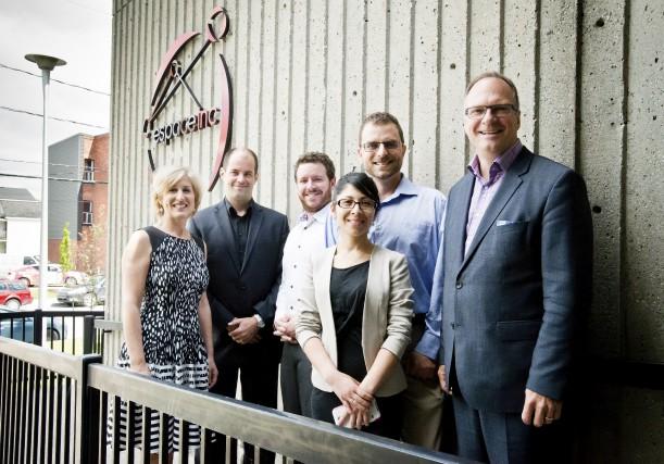 Desjardins-Innovatech et Espace-inc annoncent l'instauration d'un nouveau programme... (Spectre Média, Jessica Garneau)