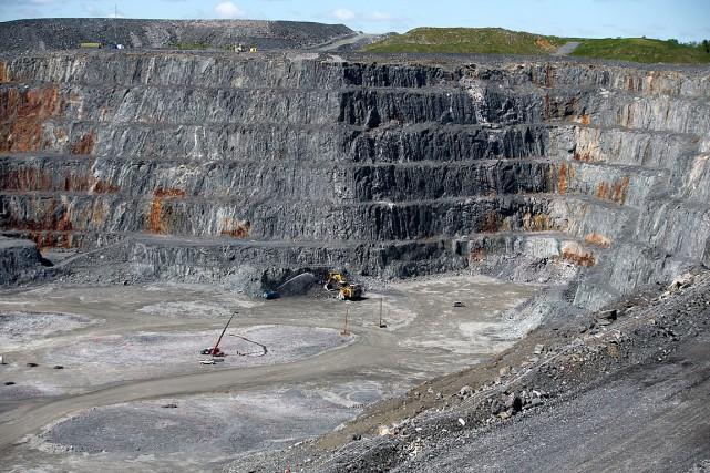 La mine de Malarticà ciel ouvert est la... (Archives La Presse)