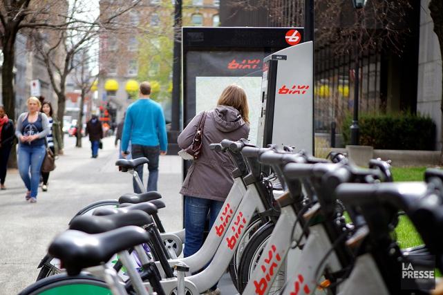 Les cyclistes occasionnels ont été plus nombreux que jamais à utiliser un BIXI,... (PHOTO SARAH MONGEAU-BIRKETT, ARCHIVES LA PRESSE)