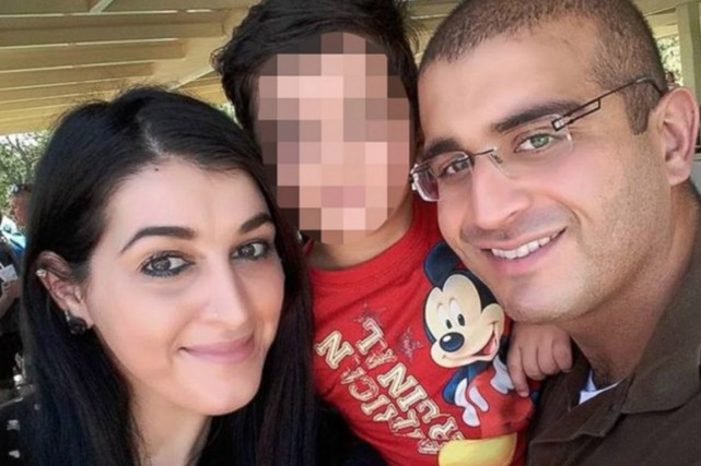 Nour Salman, 30 ans, était mariée avec Omar... (PHOTO TIRÉE DE LA PAGE FACEBOOK D'OMAR MATEEN)