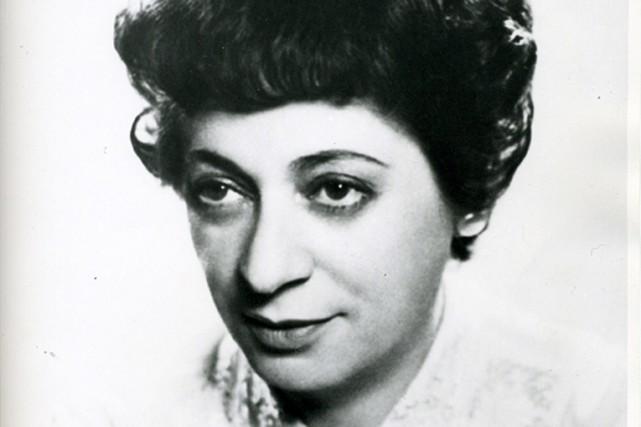 Ethel Stark a cofondé en 1940 la symphonie... (Photo fournie par les Archives de la Bibliothèque publique juive de Montréal)