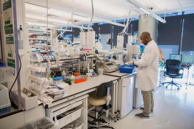 Les entreprises de biotechnologie montréalaises et nos laboratoires de... (PHOTO SCOTT EISEN, ARCHIVES BLOOMBERG)