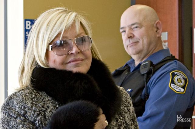 Michèle Richard, au cours d'un précédent procès pour... (Photothèque Le Soleil, François Roy, La Presse)